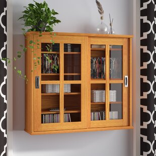 Multimedia Wall Mounted Cabinet