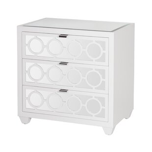 Affordable 3 Drawer Bachelor's Chest by Worlds Away Reviews (2019) & Buyer's Guide
