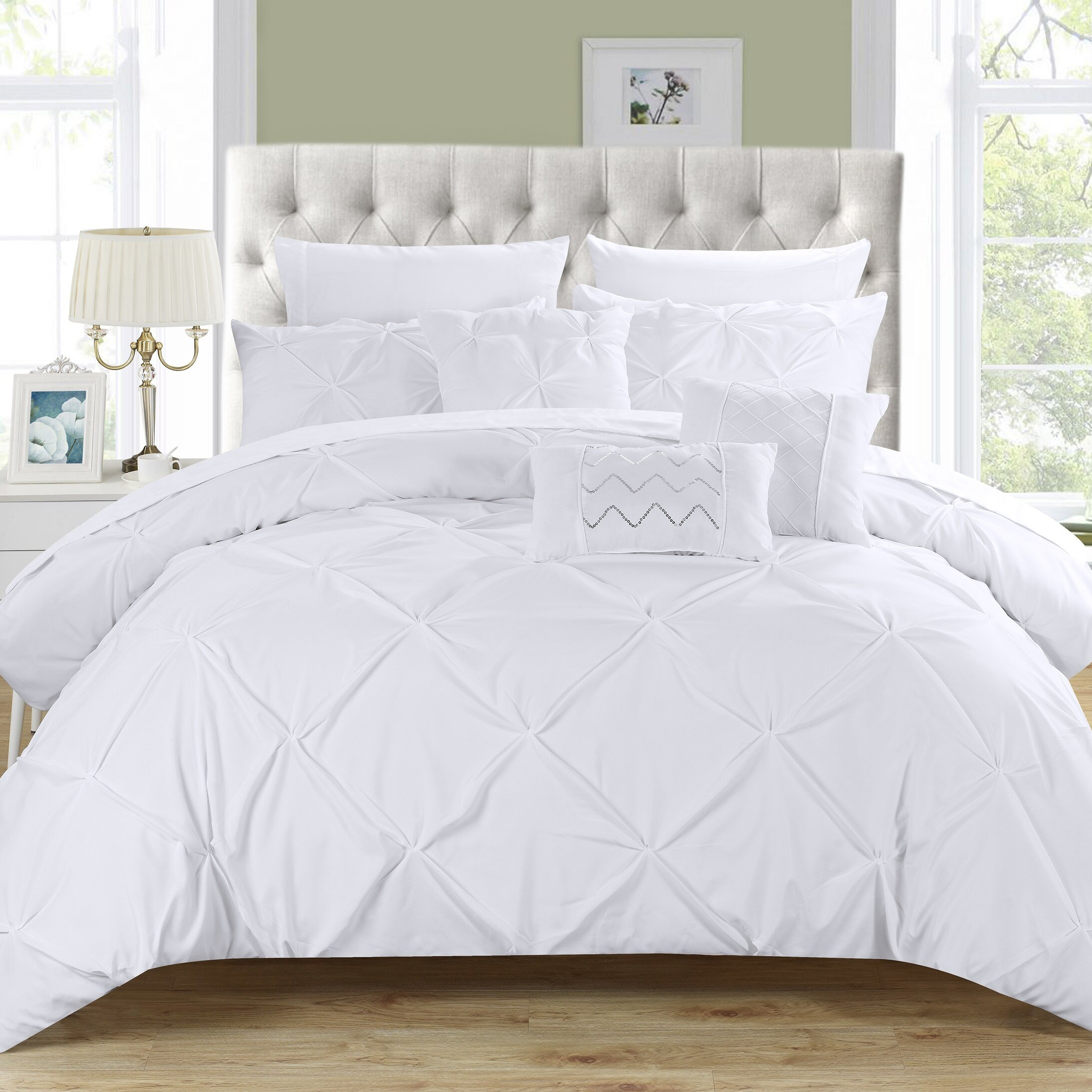 Elegant Willa Arlo Interiors Yamna 10 Piece Comforter Set U0026 Reviews | Wayfair