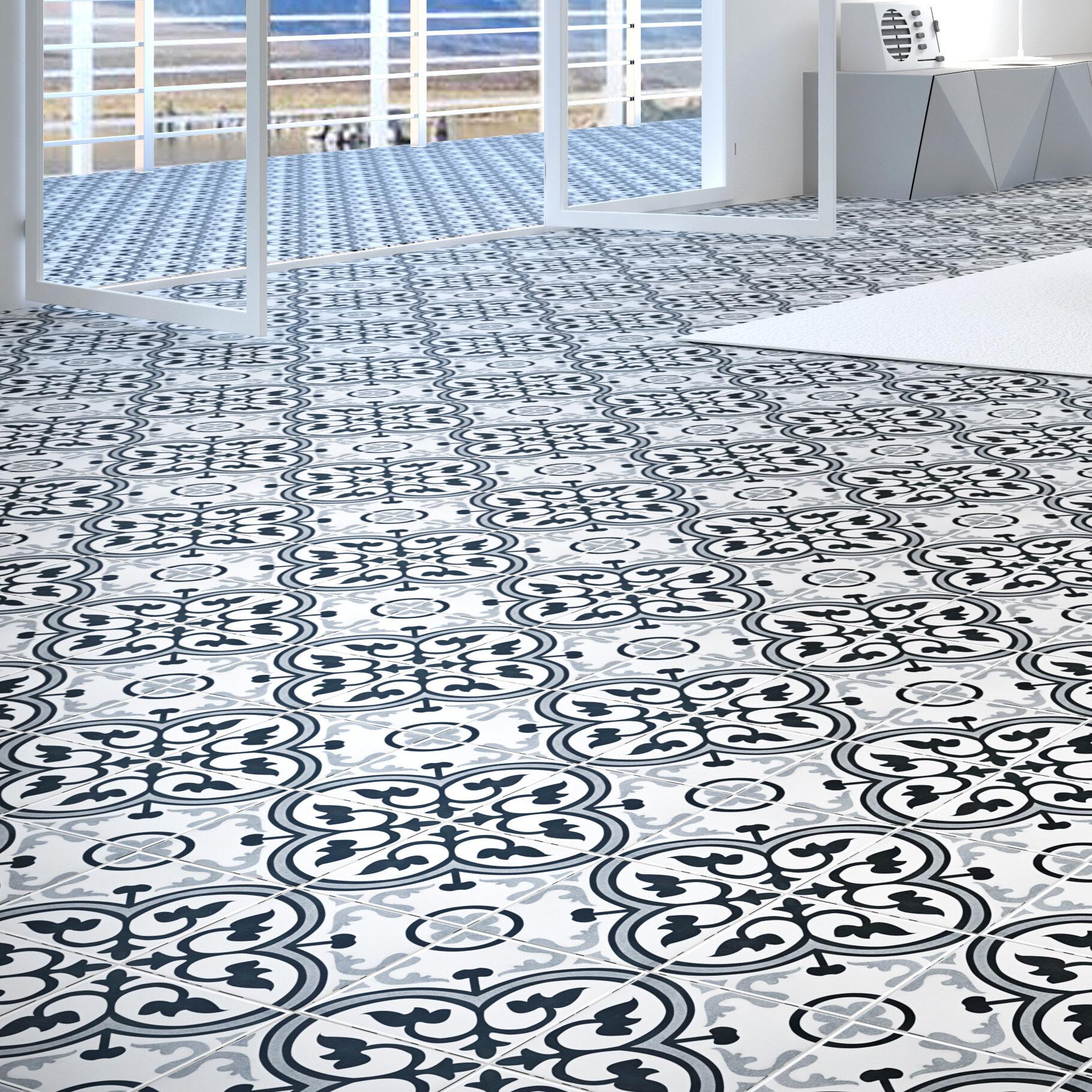 Ceramic Spanish Field Tile