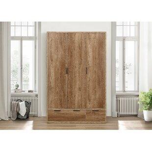 Adams 3 Door Wardrobe By Three Posts