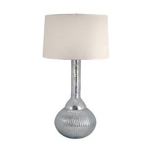 Highland Dunes Chien Mercury Glass Fluted Bulb 33