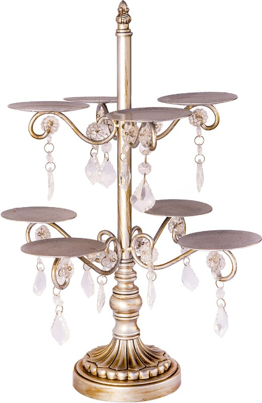 Opulent Treasures 8 Arm Chandelier Cupcake Stand Amp Reviews