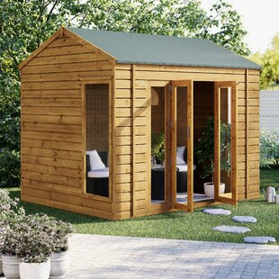 Vermont 10 X 8 Ft. Tongue & Groove Summer House By Sol 72 Outdoor