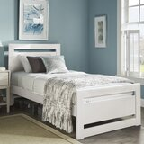 Rotan Cut Out Platform Bed by Three Posts