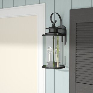 Evgenia 2-Light Outdoor Wall Lantern by 17 Stories