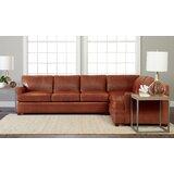 182 Leather Sectional by Wayfair Custom Upholstery™