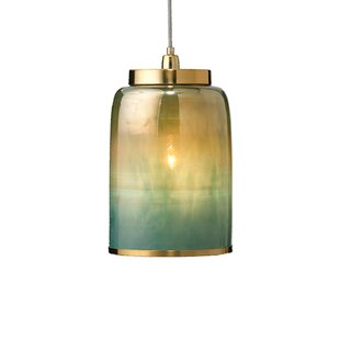 Everly Quinn Keeney 1-Light Inverted Pend..
