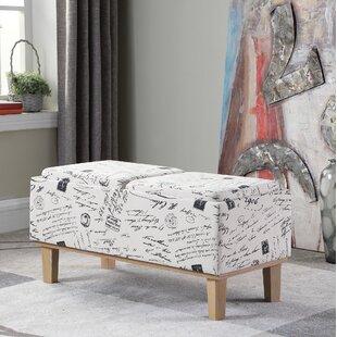 Sahaj Upholstered Storage Bench by Ophelia & Co.