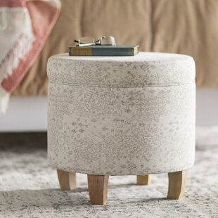 Mandana Mid Storage Ottoman by Bungalow Rose