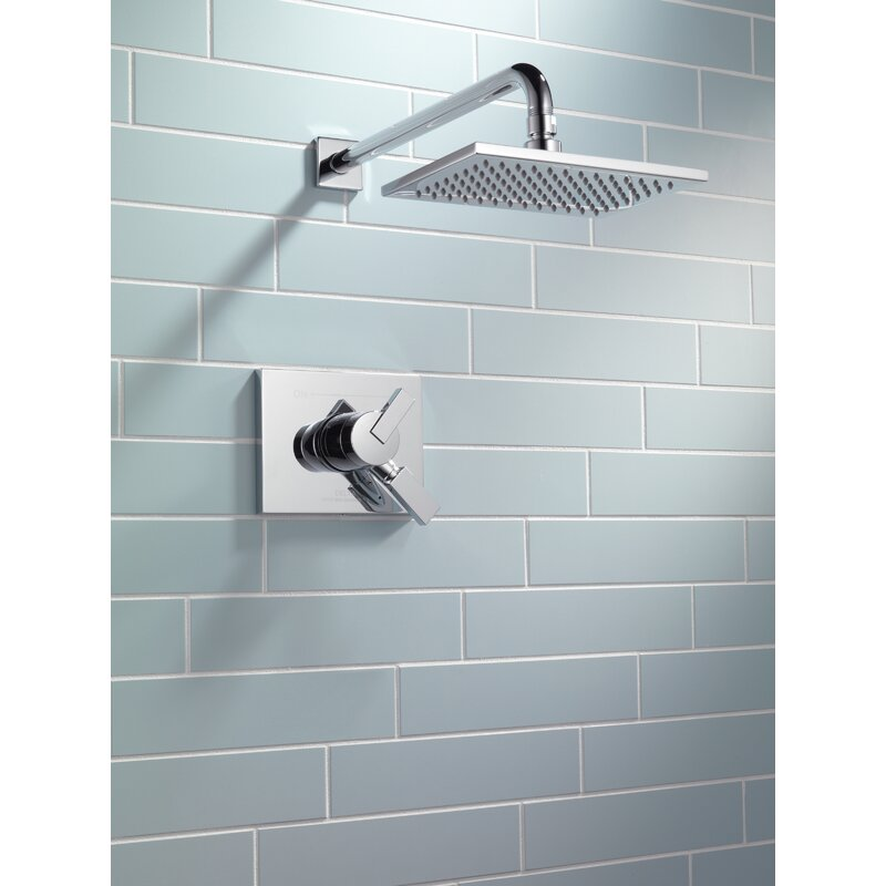 Delta Vero 17 Series Shower Faucet Trim with Lever Handle and ...