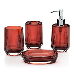 red glass bathroom accessories. Save To Idea Board Red Glass Bathroom Accessories N