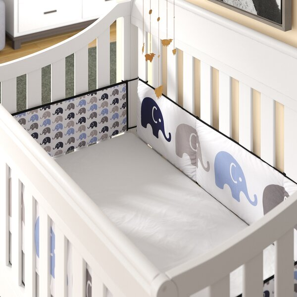 Viv Rae Yasmeen Crib Bumper Pad Set Reviews Wayfair