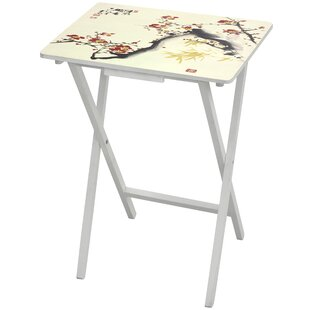 Cherry Blossom TV Tray by Oriental Furniture