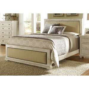 Assya Upholstered Panel Bed by Lark Manor