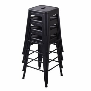 Beckwith 26'' Patio Bar Stool (Set of 4) by Williston Forge