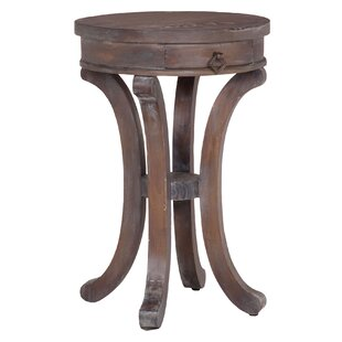 Laureole Mahogany End Table by One Allium Way