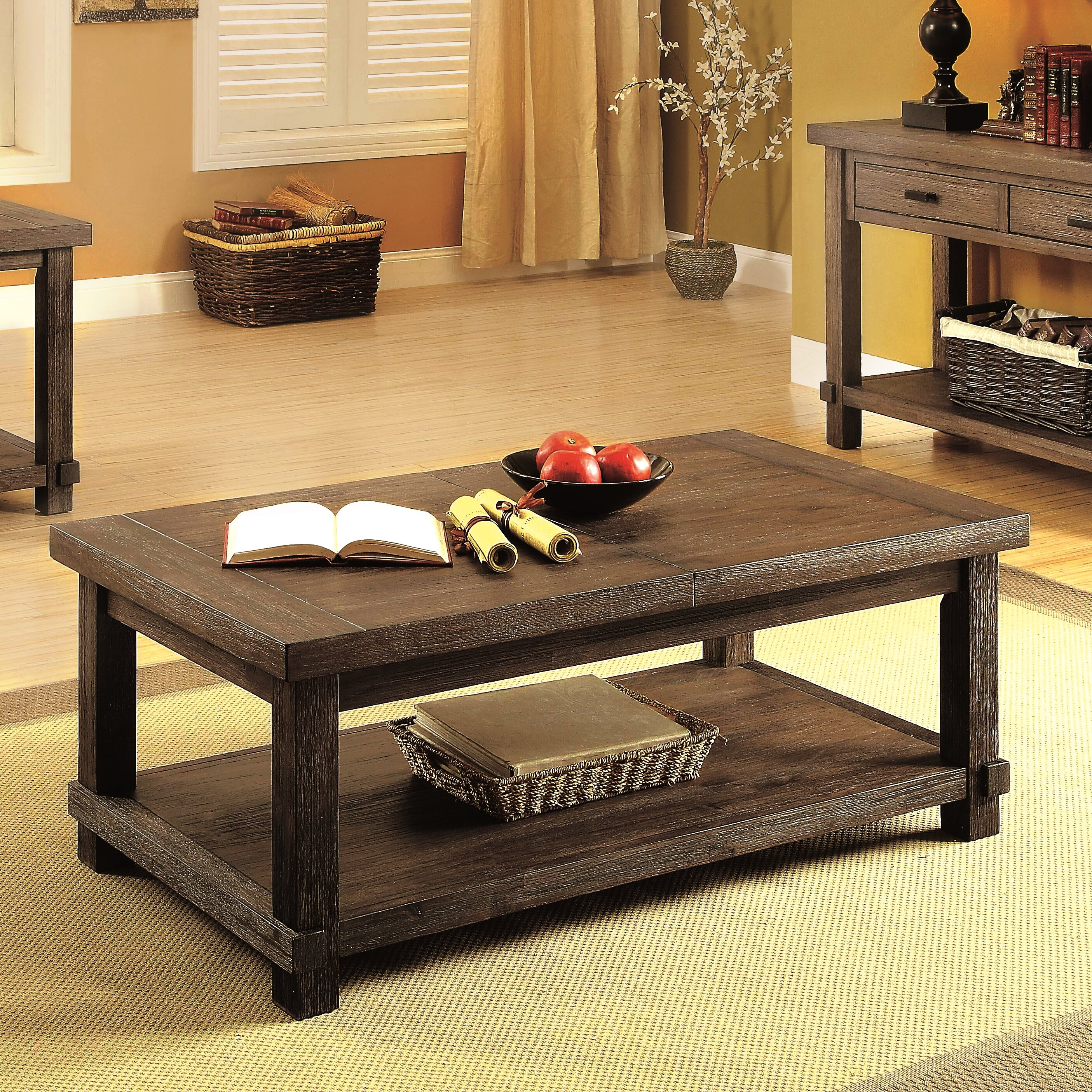 Transitional Coffee Table Sets 7