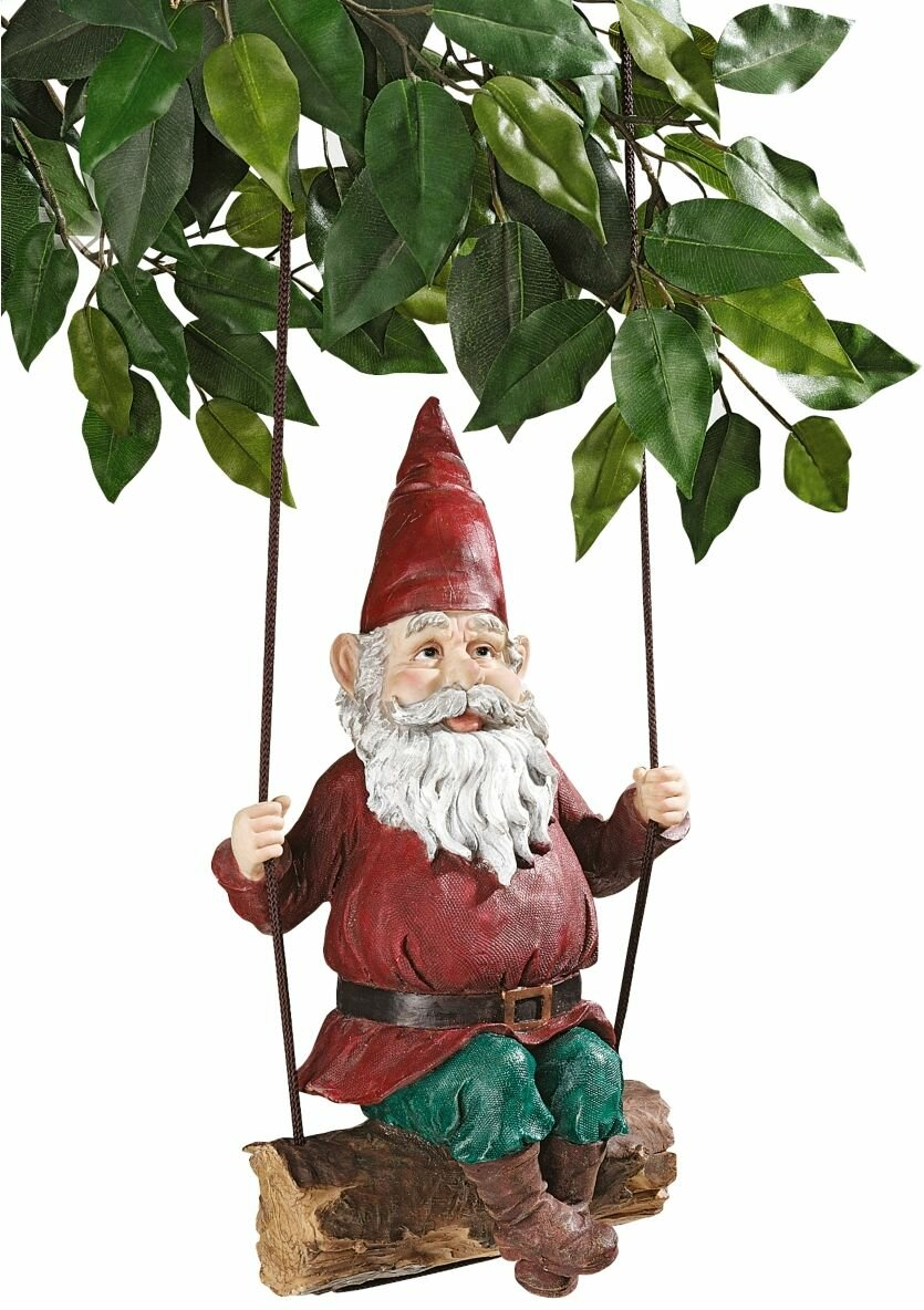 Cheap Sammy The Swinging Gnome Statue Furniture Online