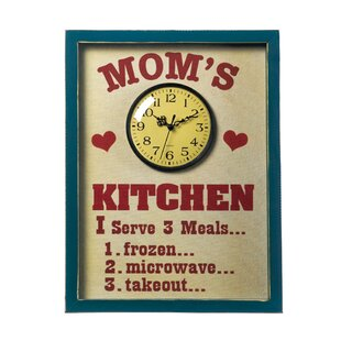 Anupam Mom S Kitchen Wall Clock