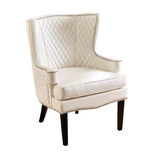 House of Hampton Berges Wingback Chair