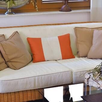 East Urban Home Schatzi Mila Farmhouse Indoor Outdoor Throw Pillow Wayfair
