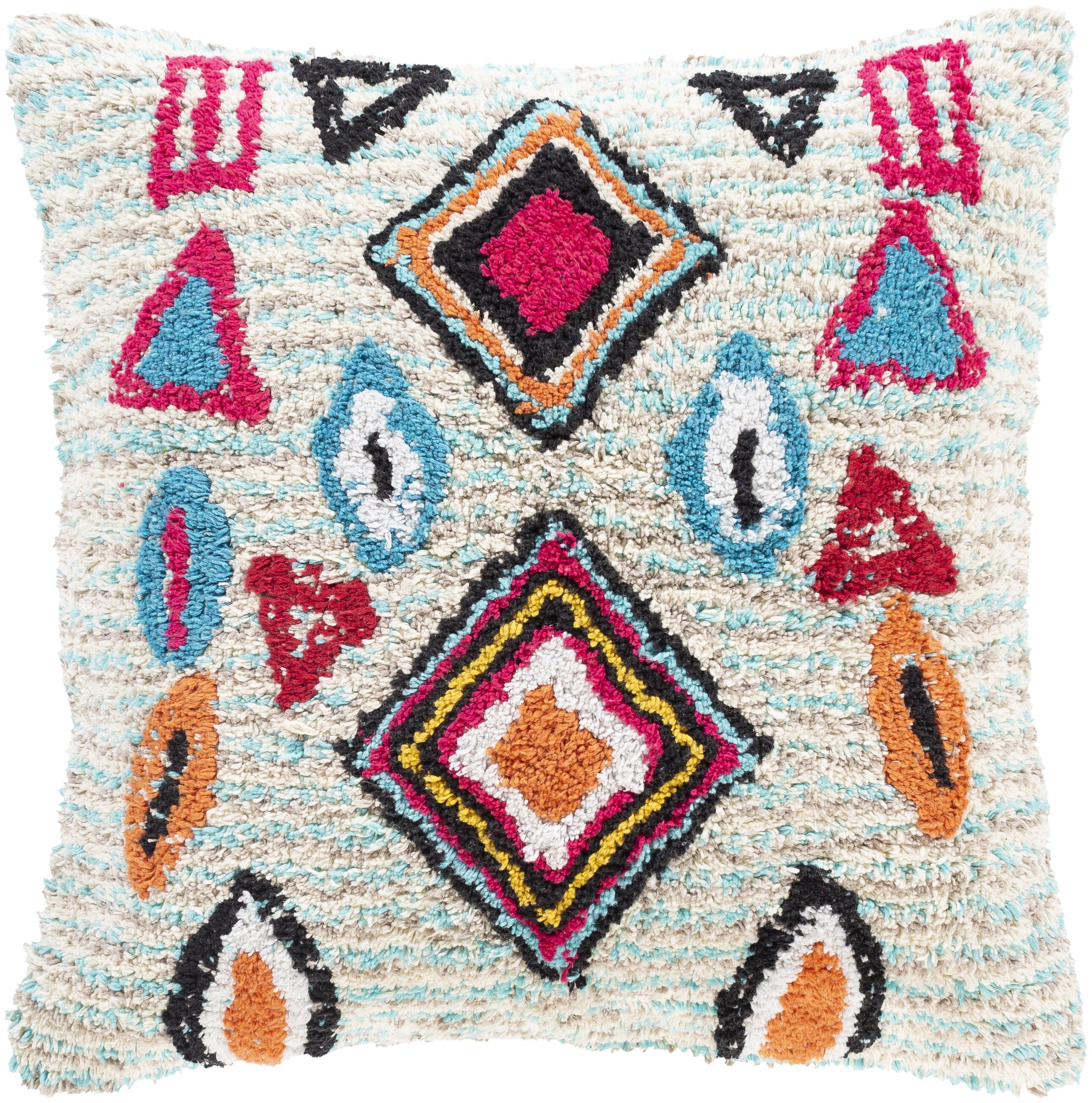 Soroka Geometric Throw Pillow Reviews