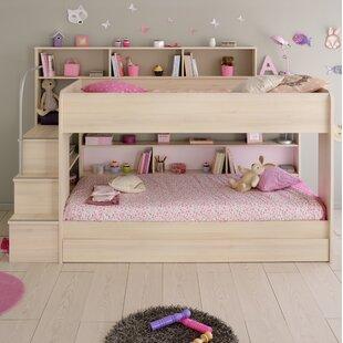 Ciara European Single Triple Sleeper Bunk Bed With Drawer By Harriet Bee
