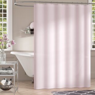 Allegro Stripe Single Shower Curtain