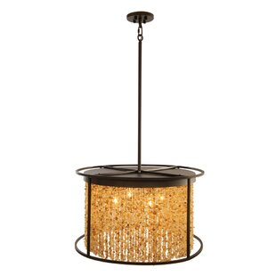 Bloomsbury Market Kori 4-Light Drum Pendant