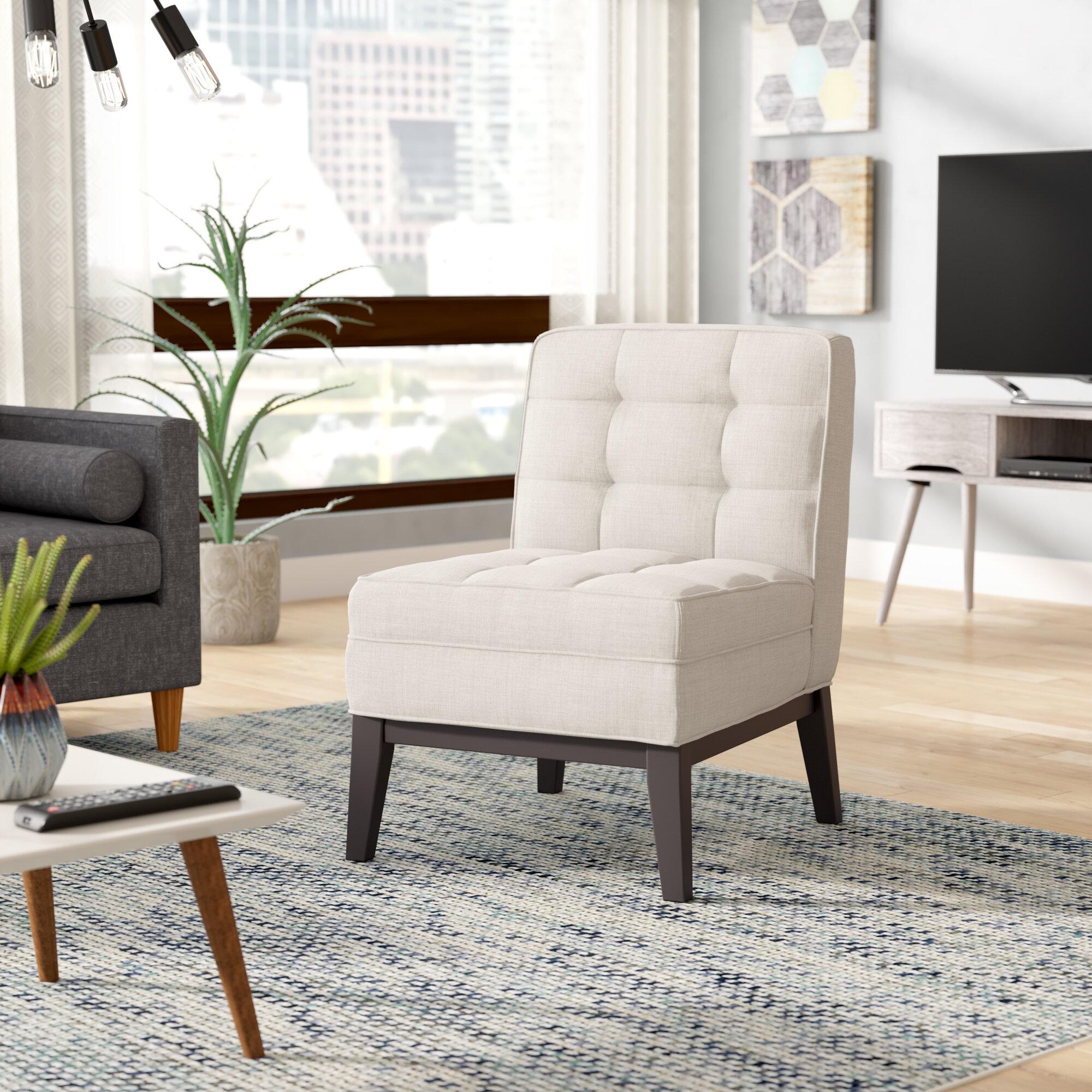 Brayden Studio Hilburn Slipper Chair Reviews Wayfair