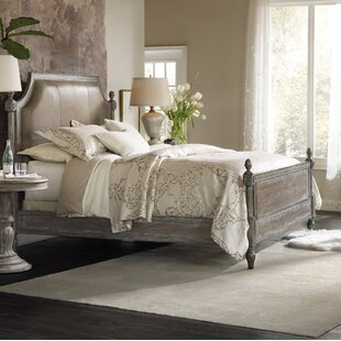 Hooker Furniture True Vintage King Upholstered Panel Bed
