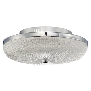 Latitude Run Jeannette 126-Light Flush Mount