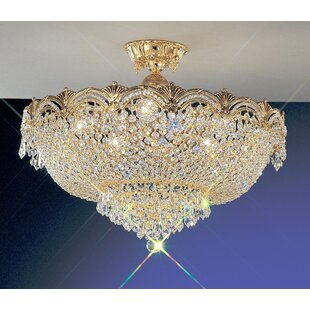 Regency II Semi-Flush Mount by Classic Lighting