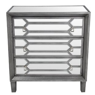 Searching for Marlette 3 Drawer Accent Chest ByRosdorf Park
