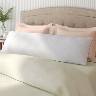 Alwyn Home Cool Gel Memory Foam Body Pillow