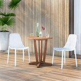 Claudio 3 Piece Teak Bistro Set