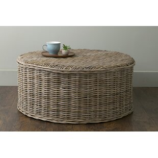 Vitiello Rattan Coffee Table by Highland Dunes Best #1