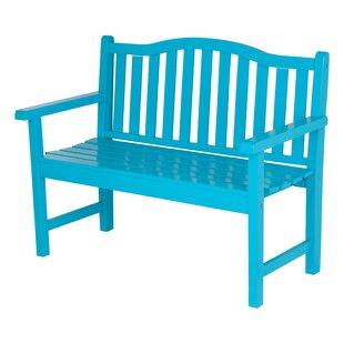 Shine Company Inc. Winston Cedar Wood Garden Bench