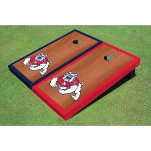 All American Tailgate NCAA 10 Piece Border Cornhole Board Set