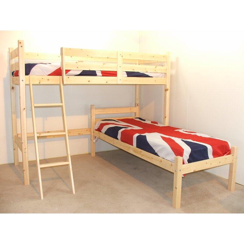 Just Kids Croydon L Shaped Bunk Bed Reviews Wayfair Co Uk