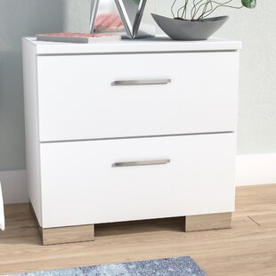 Wade Logan Hardwick 2 Drawer Nightstand