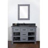 Debora Solid Fir 49'' Single Bathroom Vanity Set by Gracie Oaks