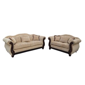 New England 2 Piece Living Room Set by..