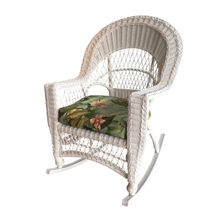 Camacho Rocking Chair with Cushion August Grove
