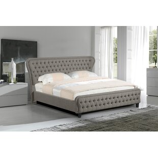 Niagara Upholstered Panel Bed by Rosdorf Park