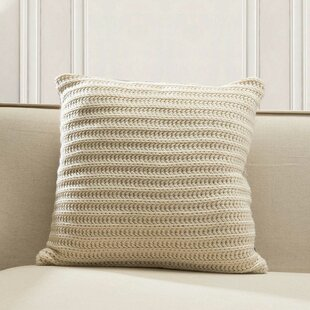 Burleson Knitted Throw Pillow