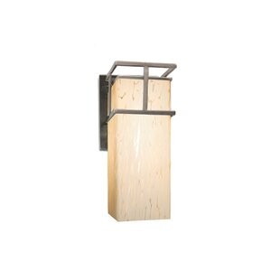 Genaro 1-Light Outdoor Sconce By Brayden Studio Outdoor Lighting