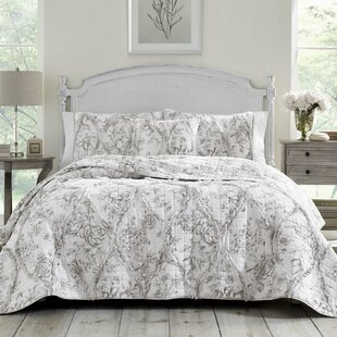 Lena Cotton Reversible Quilt by Laura Ashley Home