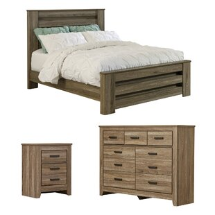 Herard Panel Configurable Bedroom Set